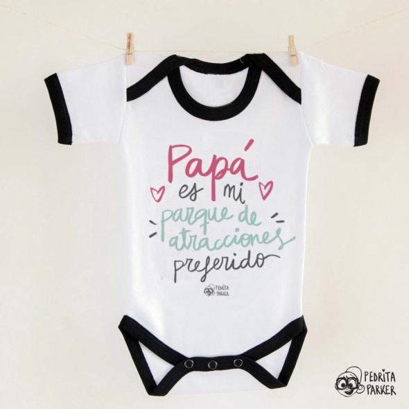 Body bebé Papá parque de atracciones