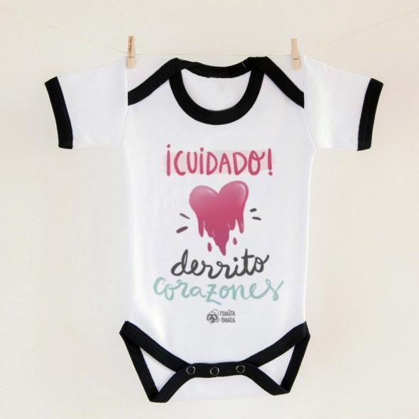 Body bebé Derrito Corazones
