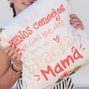 Funda Cojín Consejos Mamá