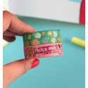 Pack 2 Washi Tapes: Mujer Fatal / Floral