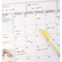 Planificador Mensual A4 Foficornio