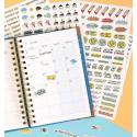 Pack Cuaderno de Profe + Pegatinas Extras