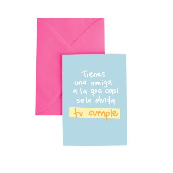 Tarjeta de cumpleaños Amiga Paquita