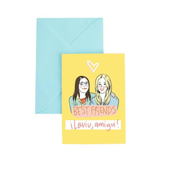 Tarjeta de felicitación Best Friends