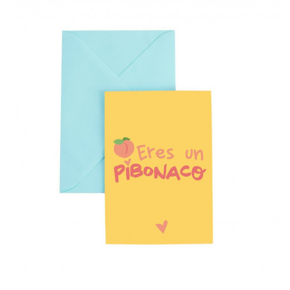 Tarjeta de felicitación Pibonaco