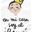 Camiseta infantil Soy el rey
