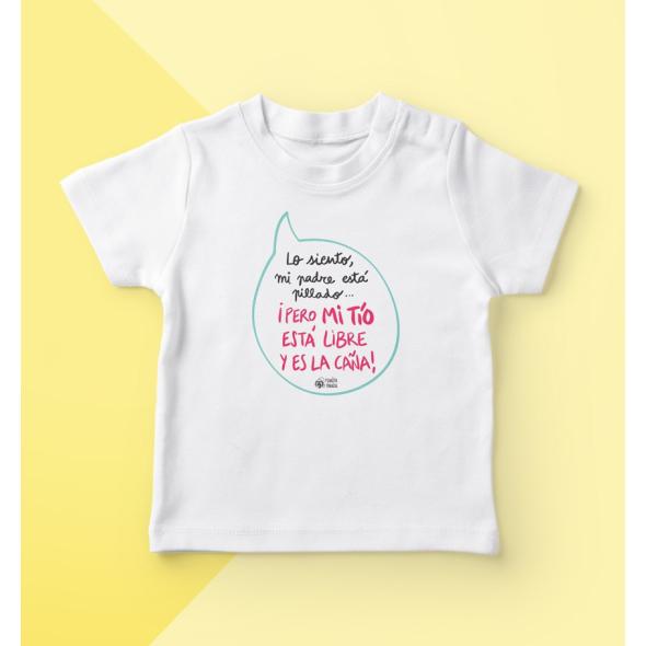 Camiseta infantil Mi tío es la caña