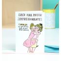 Tarjeta de felicitación Hermanita