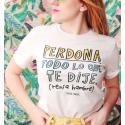 Camiseta orgánica - Perdona