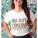 Camiseta orgánica - No soy timida