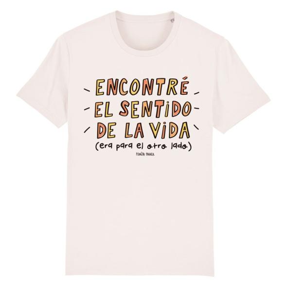 Camiseta orgánica - Sentido de la vida