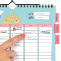 Calendario atemporal para familias