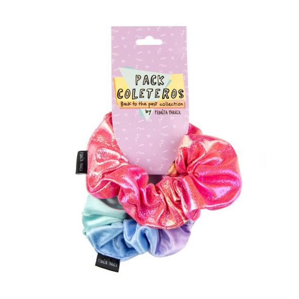 Pack 2 Coleteros Scrunchies Sweet 90's