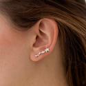 Pendientes ear cuff Stardust de plata