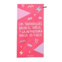 Toalla microfibra rosa Sentadillas