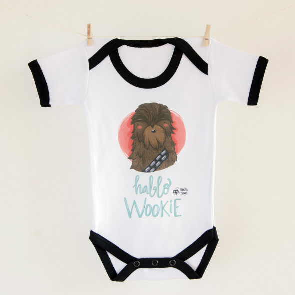 Body bebé Hablo wookie
