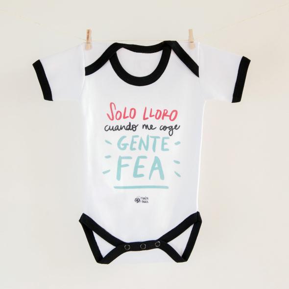 Body bebé Gente fea