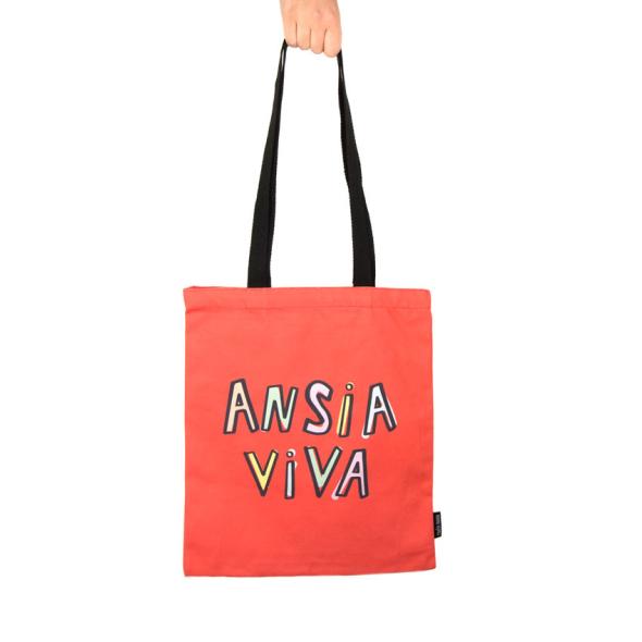 Bolsa de lona Ansia viva