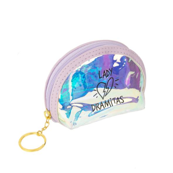 Monedero holográfico Lady Dramitas