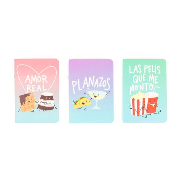 Pack de libretas para Foodies