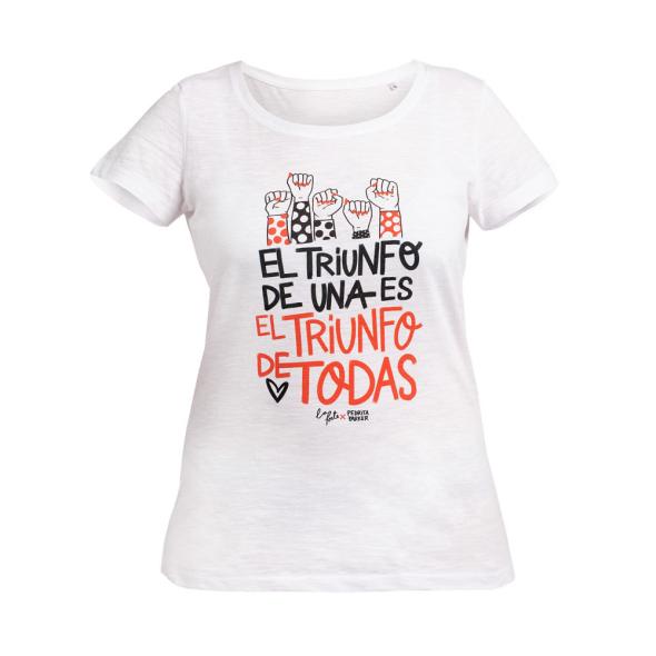 Camiseta La Forte x Pedrita blanca