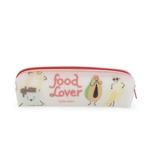 Estuche de silicona - Food lover