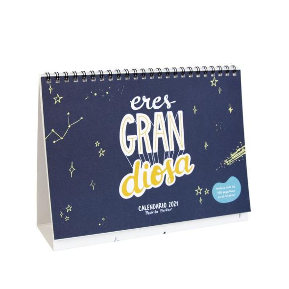 Calendario mesa 2021 - Eres GRAN Diosa