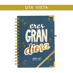 Agenda 2021 diaria - Eres GRAN diosa