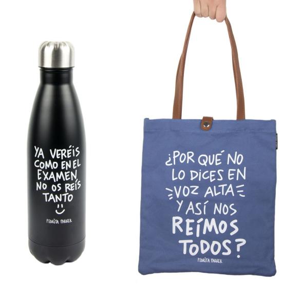 Pack Bolso + Termo de Profe