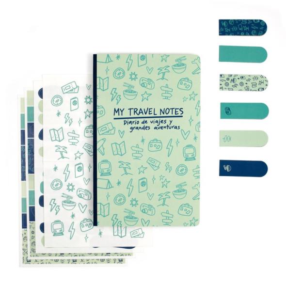 Kit Bullet Journal - My Travel Notes