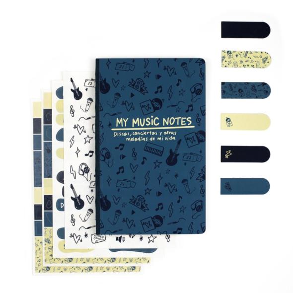 Kit Bullet Journal - My Music Notes