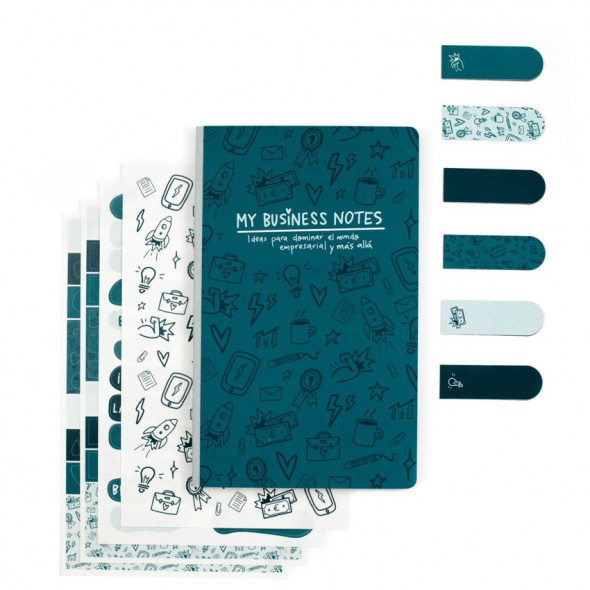 Kit Bullet Journal - My Business Notes