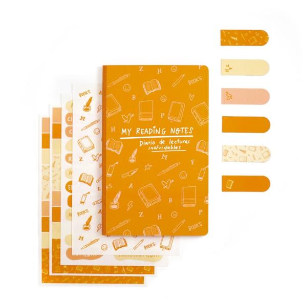 Kit Bullet Journal - My Reading Notes