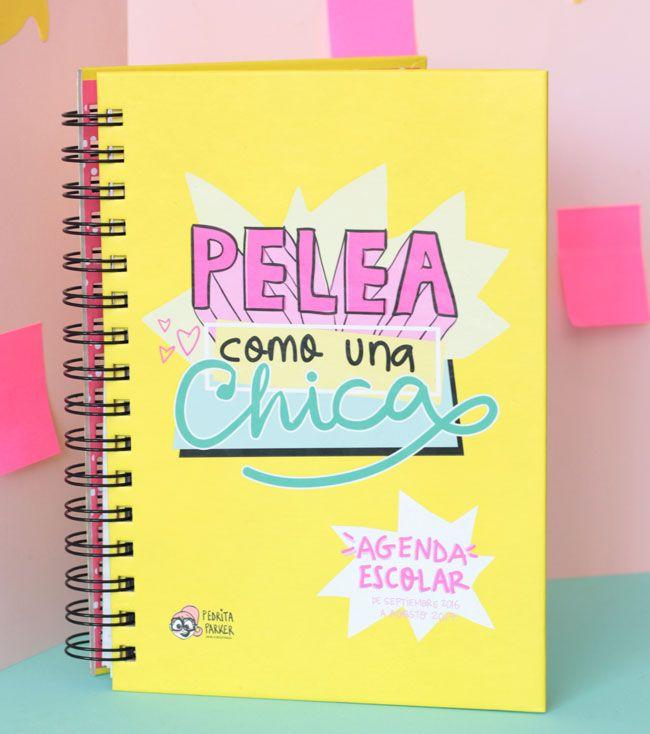 agendas bonitas 2017, agendas bonitas para regalar, agendas originales, agendas escolares escolares 2016 - 17, agendas baratas, agenda pedrita parker