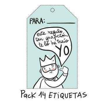 Pack Etiquetas Navideñas